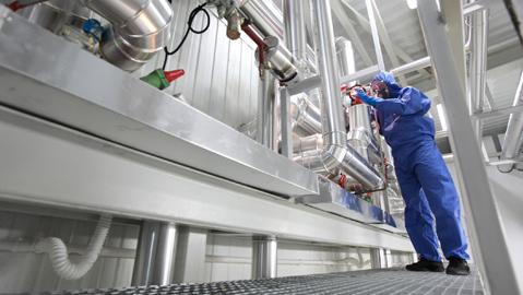 QUIP TDL Reinigung von Maschinen und Anlagen: Industriereinigung von Maschinen und Anlagen