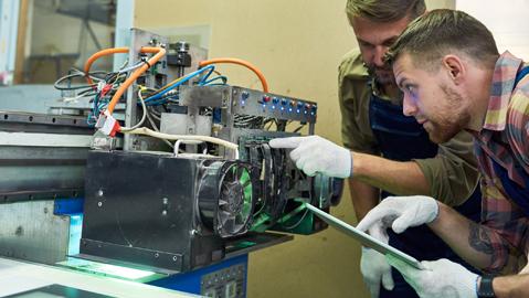 QUIP TDL Tägliche Kontrollen: Überprüfung von Maschinen und Anlagen